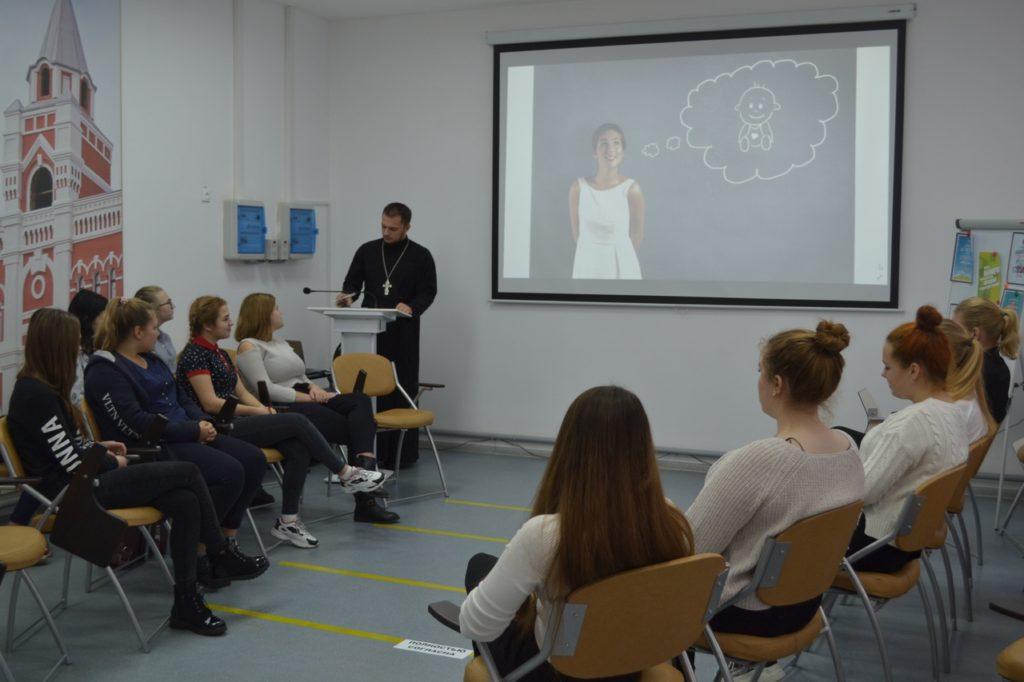 8 ноября на базе ЦМИ прошла встреча со студентками нашего техникума