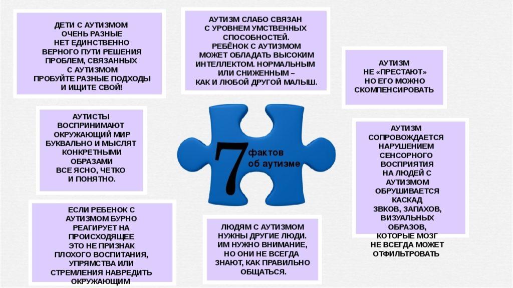 7 фактов об аутизме